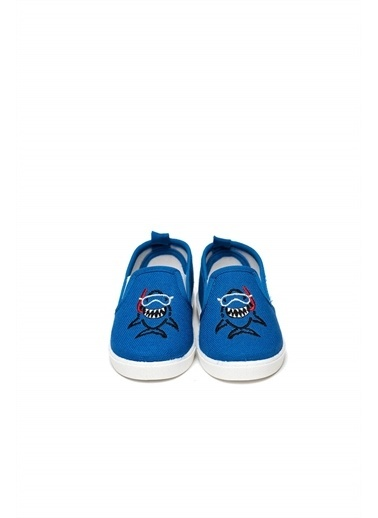 First Step Lacivert Keten Çocuk Ayakkabısı-F-471-8 Lacivert